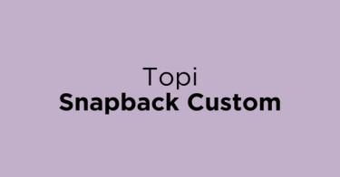 Topi Snapback Custom Jakarta Barat