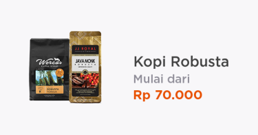 Kopi Robusta Original Lampung