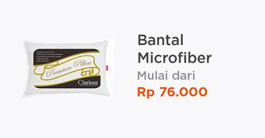 Bantal Microfiber