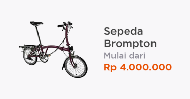 Jual Sepeda Brompton Terbaru 2020 Cicilan 0 Tokopedia