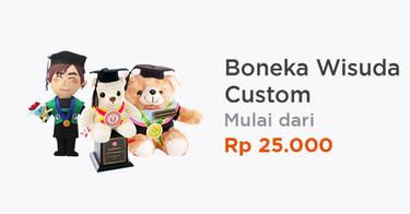Boneka Wisuda Custom Bandung