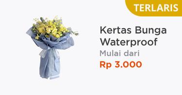 Kertas Bunga Waterproof