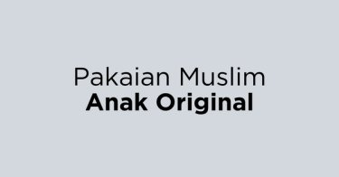 Pakaian Muslim Anak Original DKI Jakarta