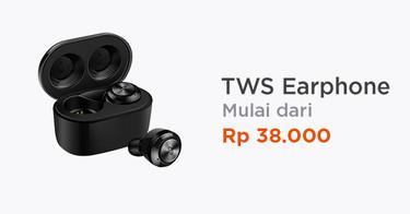 TWS Earphone Kabupaten Cirebon