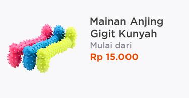 Mainan Anjing Gigit Kunyah Jakarta Barat