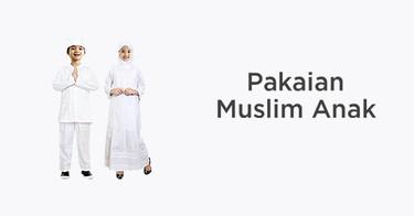 Pakaian Muslim Anak Original