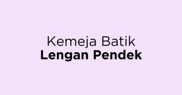 Kemeja Batik Lengan Pendek Kabupaten Cirebon