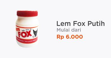 Lem Fox Putih