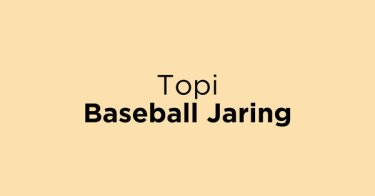Topi Baseball Jaring Jakarta Barat