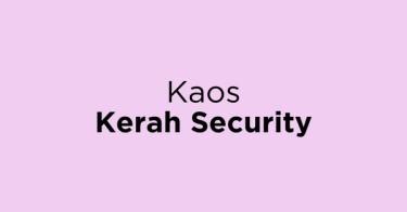 Kaos Kerah Security