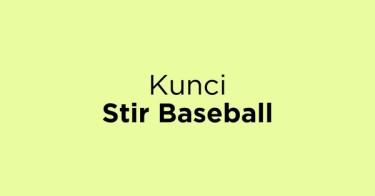 Kunci Stir Baseball Jakarta Barat