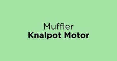 Muffler Knalpot Motor Jakarta Barat