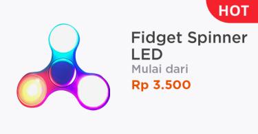 Fidget Spinner LED Palembang