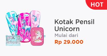 Tempat Pensil Unicorn