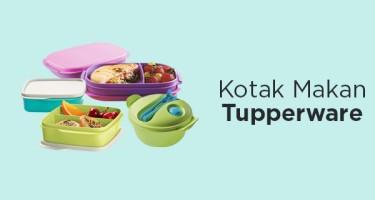 Kotak Makan Tupperware 200 Ribuan