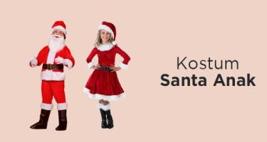 Kostum Santa Anak
