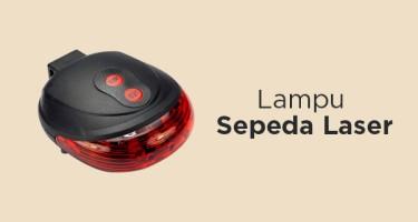 Lampu Sepeda Laser