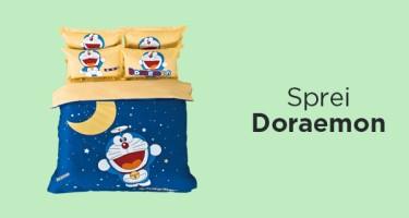 Sprei Doraemon