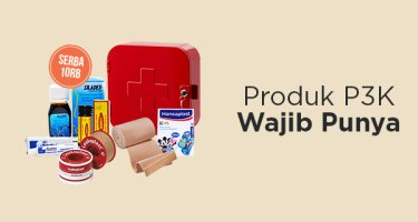 Produk P3K Wajib Punya
