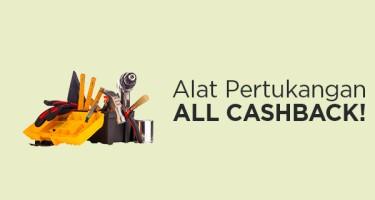 Alat Pertukangan Cashback