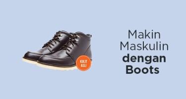 Makin Maskulin Dengan Boots