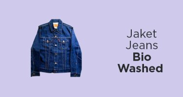 Jaket Jeans Bio Washed