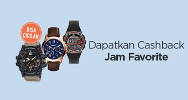 Dapatkan Cashback : Jam Favorite
