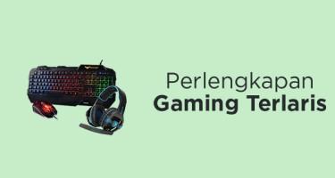 Perlengkapan Gaming Terlaris