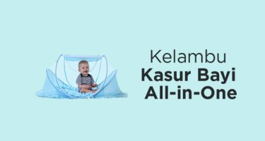 Kelambu Kasur Bayi All-in-One