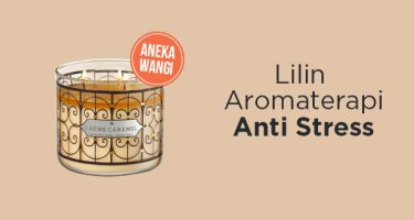 Lilin Aromaterapi Anti Stress