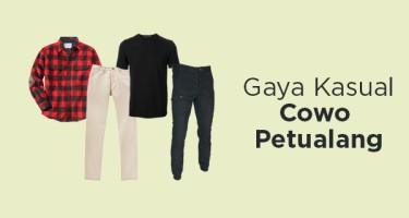 Gaya Kasual Cowo Petualang
