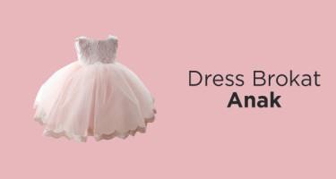 Dress Brokat Anak