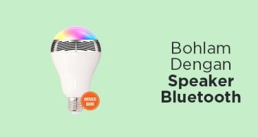 Bohlam Dengan Speaker Bluetooth