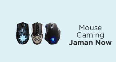 Mouse Gaming Jaman Now