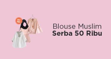 Blouse Muslim Serba 50 Ribu