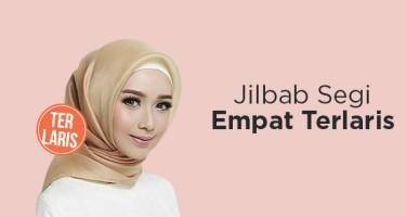 Jilbab Segi Empat Terlaris