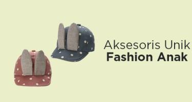 Aksesoris Unik Fashion Anak