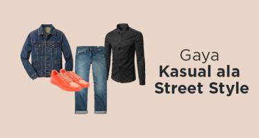 Gaya Kasual Ala Streetstyle