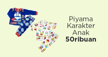 Piyama Karakter Anak Serba 50ribuan