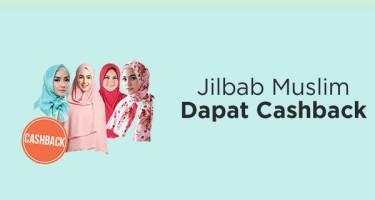Jilbab Muslim Dapat Cashback