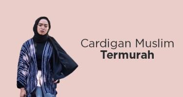 Cardigan Muslim Termurah