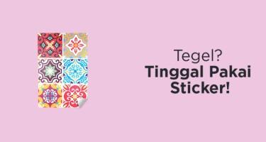 Sticker Tegel