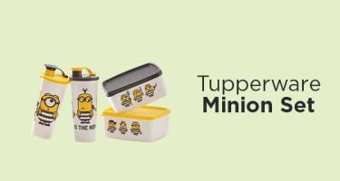 Tupperware Minion Set