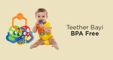 Teether Bayi BPA Free