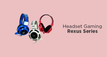 Headset Gaming Rexus Series
