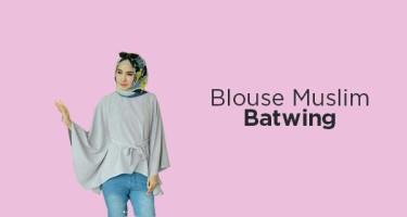 Blouse Muslim Batwing