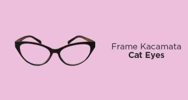 Frame Kacamata Cat Eyes