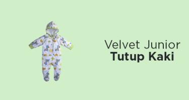 Velvet Junior Tutup Kaki
