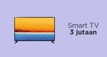 Smart TV 3 jutaan