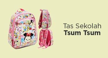 Tas Sekolah Tsum Tsum
